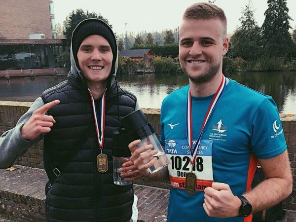 springa ett maraton
